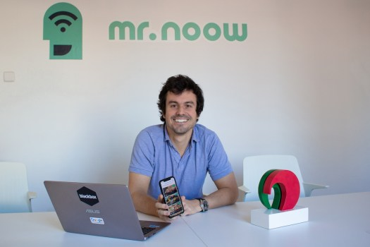 Barcelona startup Mr Noow CEO Alejandro Fresneda