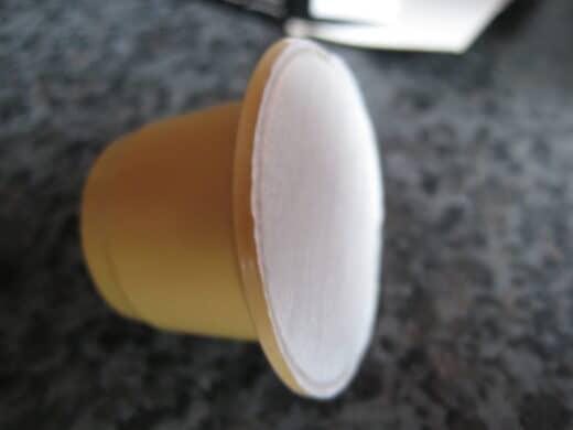 Einzelne Kapsel Espresso Sorte armonioso