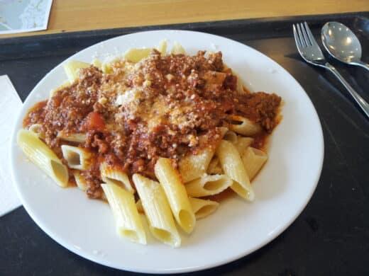 Bild von meiner Pasta Bolognese