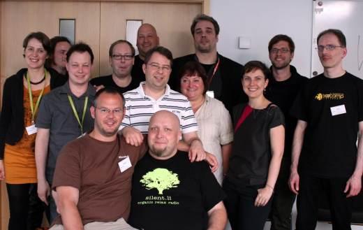 Bild von den Iron Bloggern Stuttgart, die auf dem Barcamp Stuttgart in der Session waren