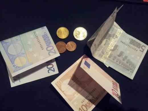 Foto von Geld