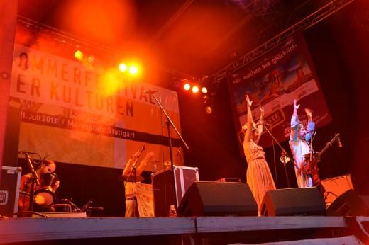 BaBa ZuLa aus der Türkei beim Sommerfestival der Kulturen 2013 in Stuttgart