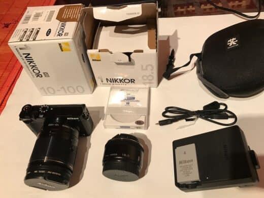 Kamera und unmittelbares Zubehör, ohne Zukäufe