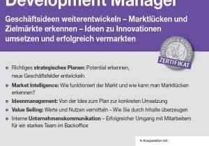 Seminar / Workshop Business Development Manager, Wien