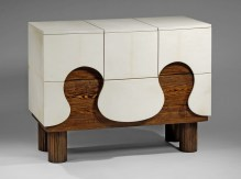 Commode mont blanc