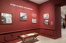 """Scénographie de l'exposition """"21 rue La Boétie"""""""