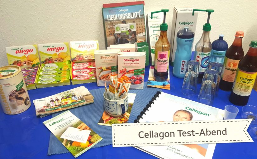 Cellagon® Test Abend