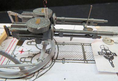Scratch-built Lewis Gun