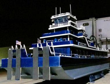 scratch built tug boat