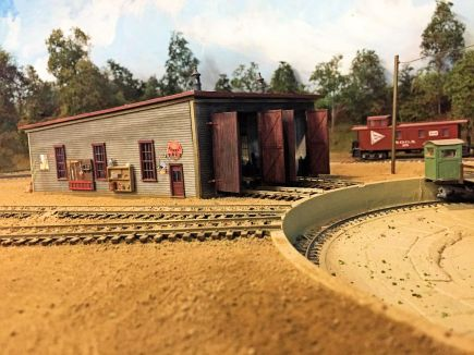 roundhouse and turntable