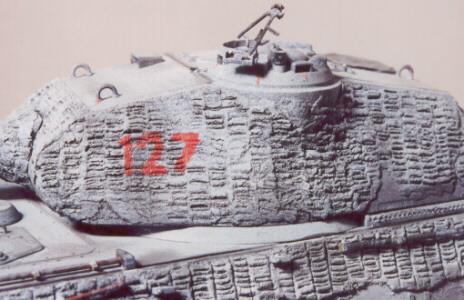 Duplicating Zimmerit on German Tanks
