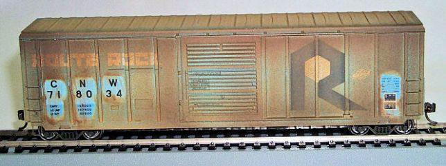 Weathering Freight Cars with an Airbrush