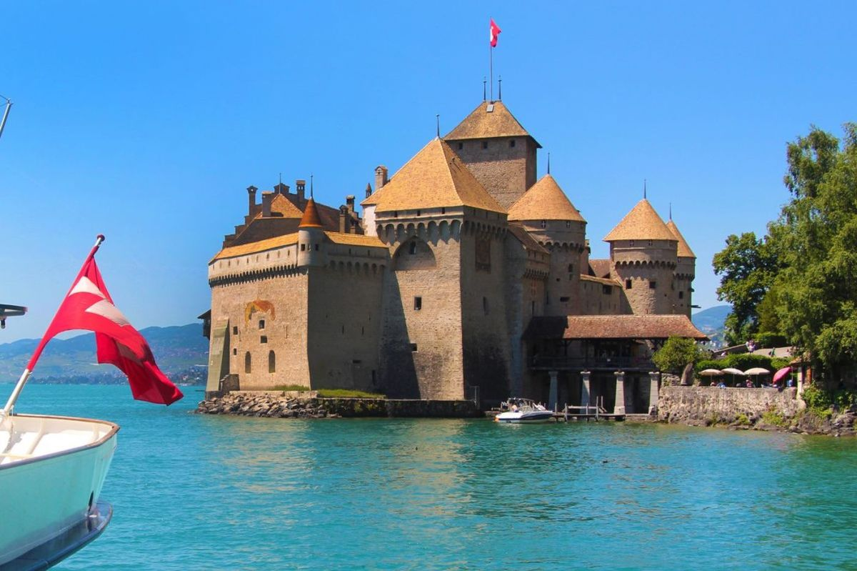 The Chateau Overlooking Lake Geneva Was Bought For Peter Bosworth For $31m