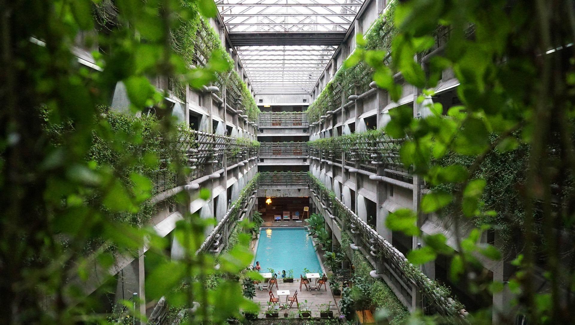 Green building by Sherra Triarosdiana