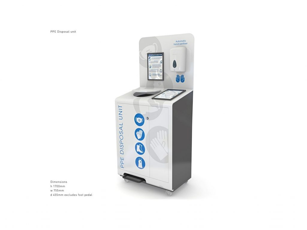 New Automatic Hand Sanitiser Dispensers To Fight Cross Contamination Hub Publishing