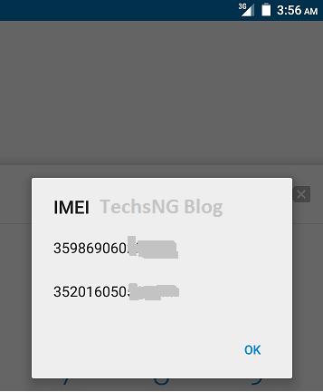new infinix 2 x510 imei numbers