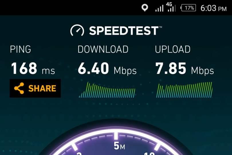 Infinix zero 4 network 4g lte speed test
