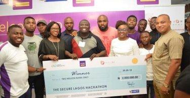 """LSFlow wins N2M In FCMB-Sponsored """"Secure Lagos Hackathon"""""""