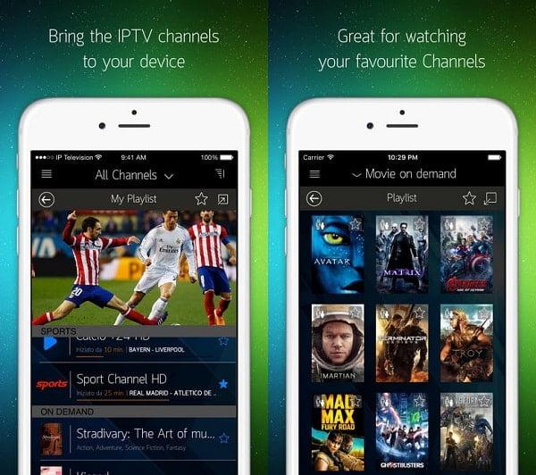 IP Television app