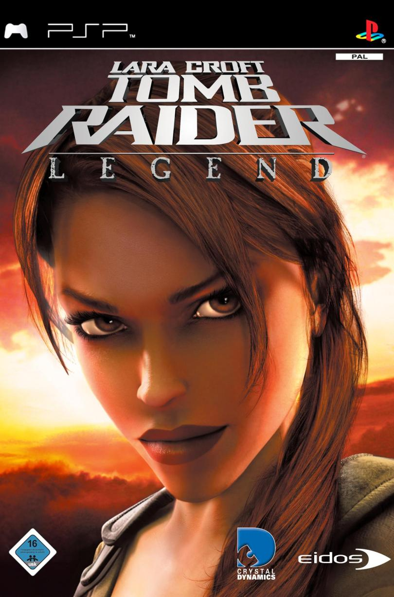 TOMB RAIDER LEGEND PPSSPP game for android