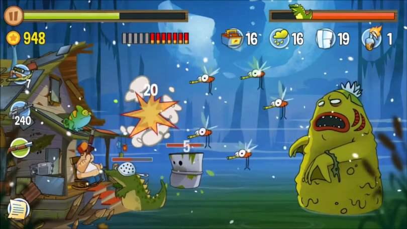 SWAMP ATTACK offline shooting game