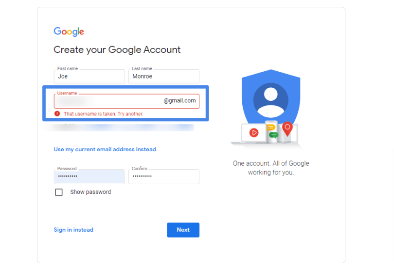How To Sign Up / Create A New Gmail Account in 2021
