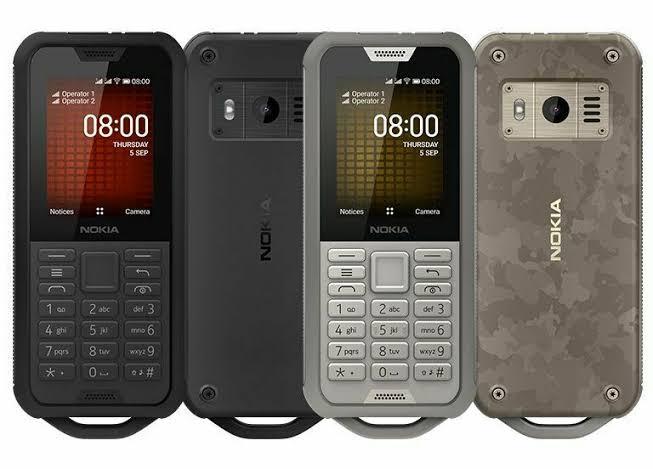 Nokia 800 Tough Dumb phone