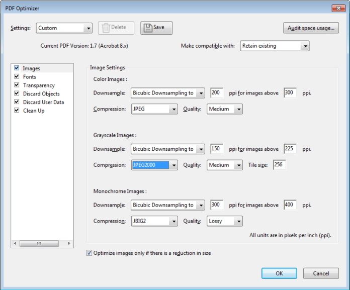 How to Reduce PDF File Size Without Loosing Its Quality using acrobat