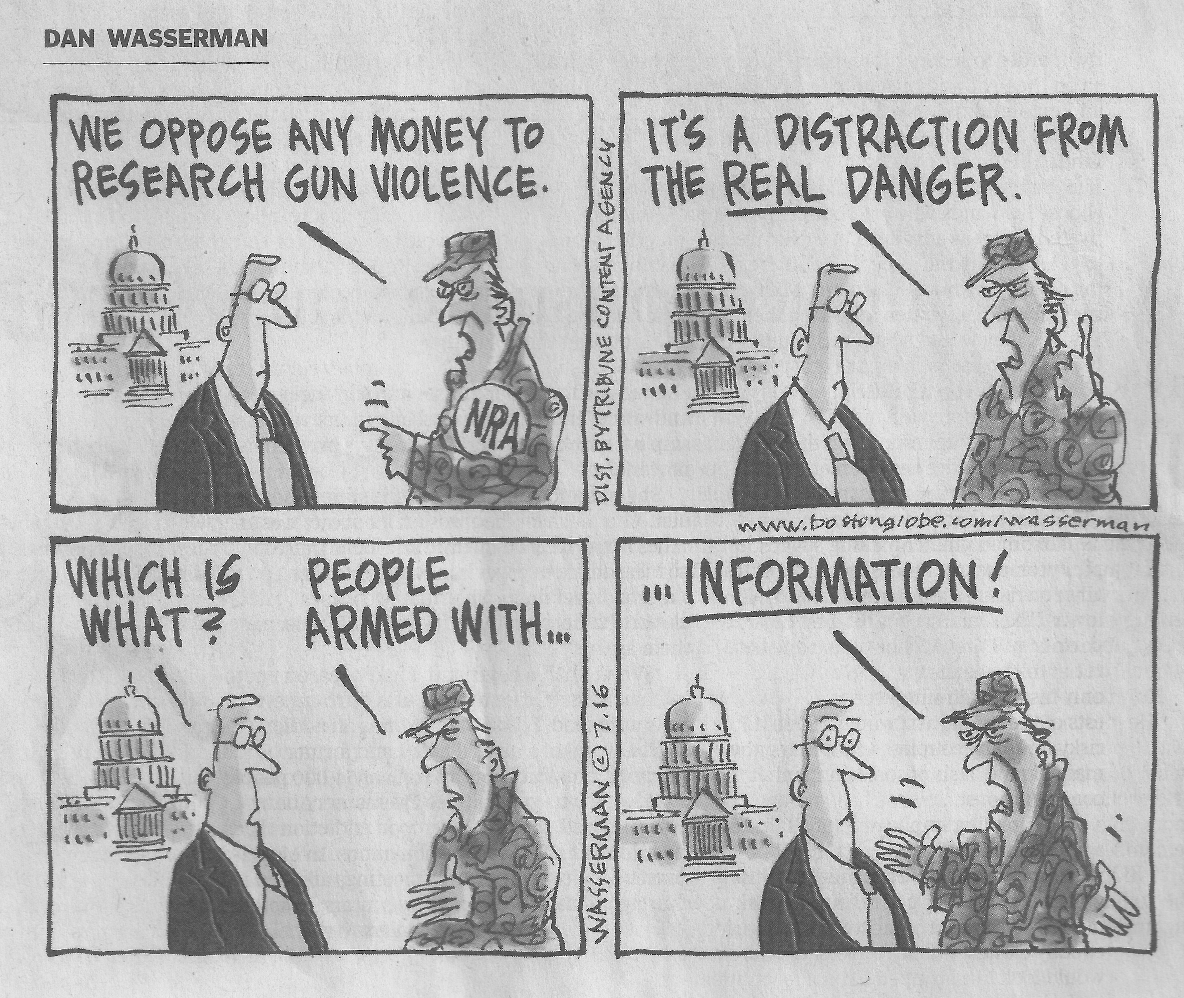 Vol 174 July 15 Dumb Government And Smart Guns