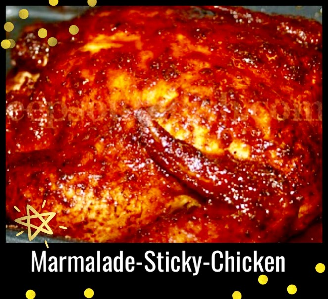 Orange Marmalade Roasted Chicken Recipe