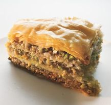 The spices in baklava make it a perfect treat this time of year.