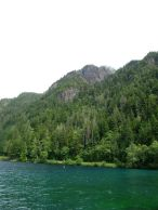 Beautiful and mysterious Lake Crescent