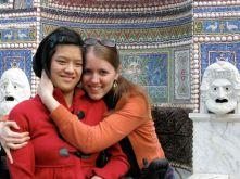 sister Raina and Kira