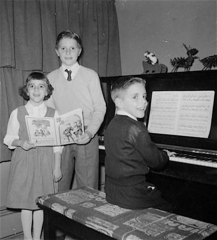 Christmas in 50s