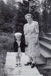 Ken with Great Grandma