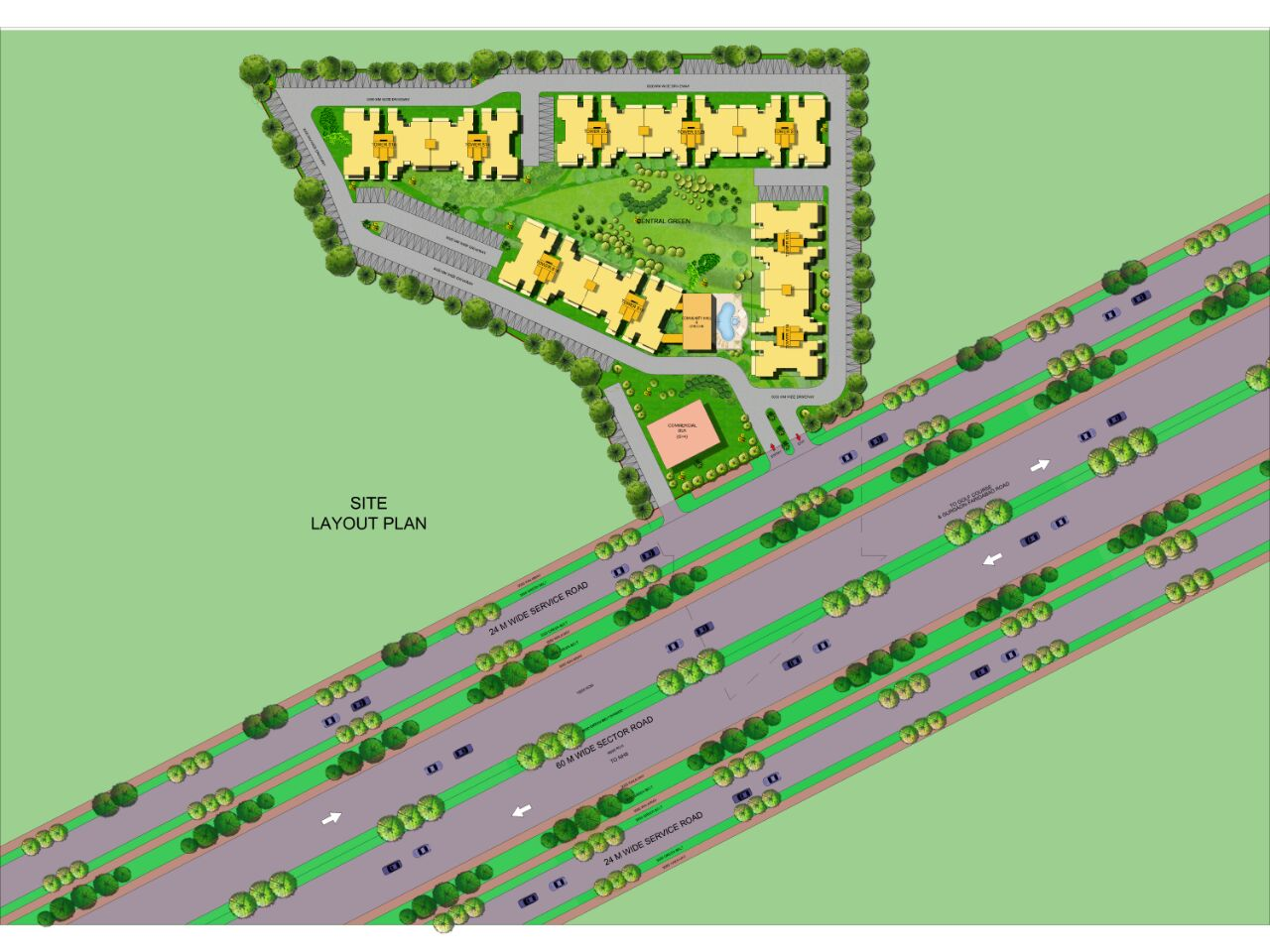 63 Golf Drive-site-plan