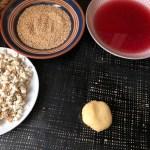 Simit poğaça - Türkisches Rezept - Mit Käse gefüllte Sesambrötchen