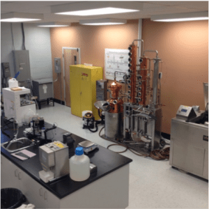 The CCNB distillation system and micro malter.