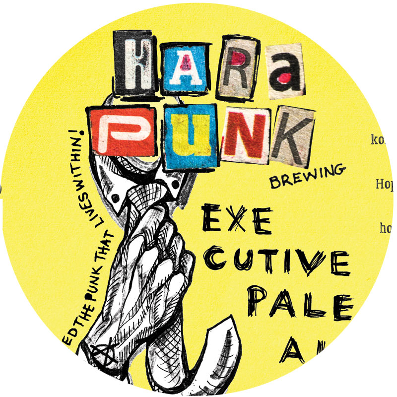 Hara'Punk EXECUTIVE PALE ALE 4.5% 30L KeyKEG