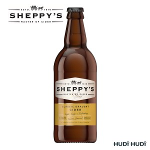 Sheppy's CLASSIC DRAUGHT Medium Cider 5.5% 500ml üveges