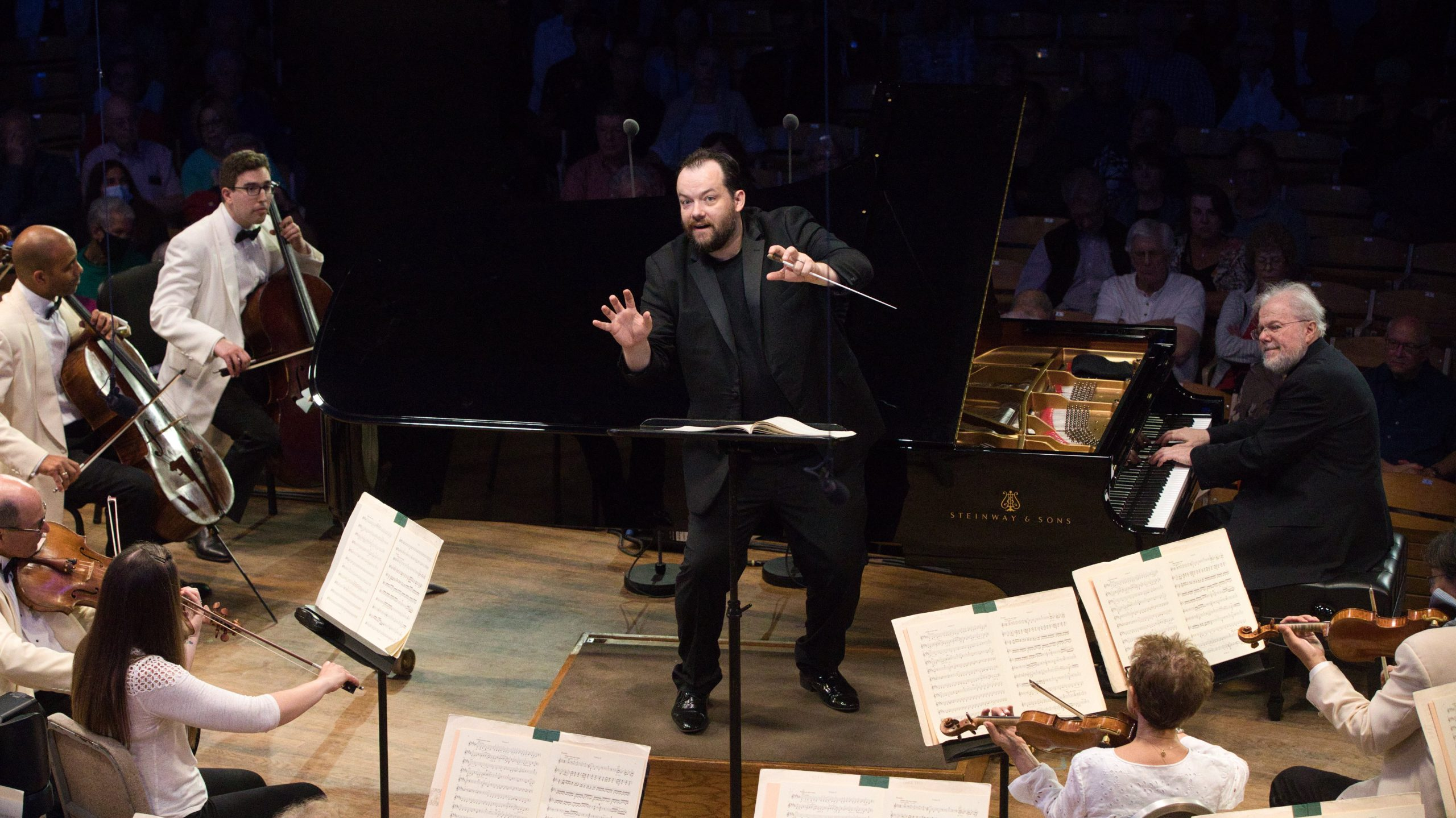 Tanglewood Opening Night: the Beethoven Anniversary Resumes, and more Beethoven, Schumann, and Iman Habibi