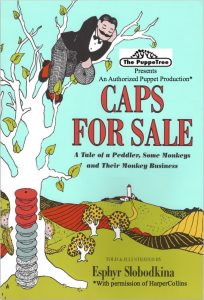 Caps for Sale postcard
