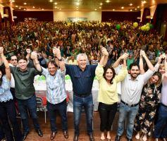 Em penúltimo encontro da frente Unidos para Mudar Goiás, em Catalão, lideranças de 56 municípios manifestam apoio a Caiado
