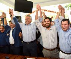 Lincoln Tejota reforça pré-campanha de Ronaldo Caiado