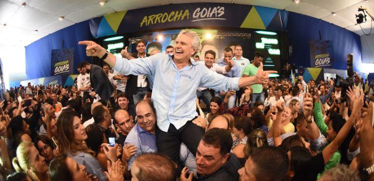Ronaldo Caiado é confirmado candidato a governador em convenção com 13 partidos