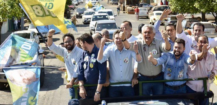 """Caiado: """"Eleição se ganha nas ruas e nós seguimos caminhando junto do povo"""""""