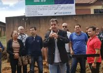 Fábio Correa inicia obra de conclusão do Centro de Convivência do Idoso, em Cidade Ocidental