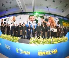Ibaneis Rocha participa da abertura da XXII Marcha a Brasília em Defesa dos Municípios