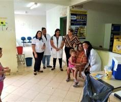 """Em Novo Gama, Campanha de Vacinação contra a gripe: ação do Dia """"D"""" mobilizou a população a ir aos postos de saúde"""