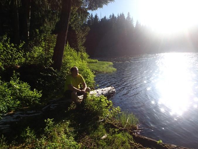 At Lower Golden Lake